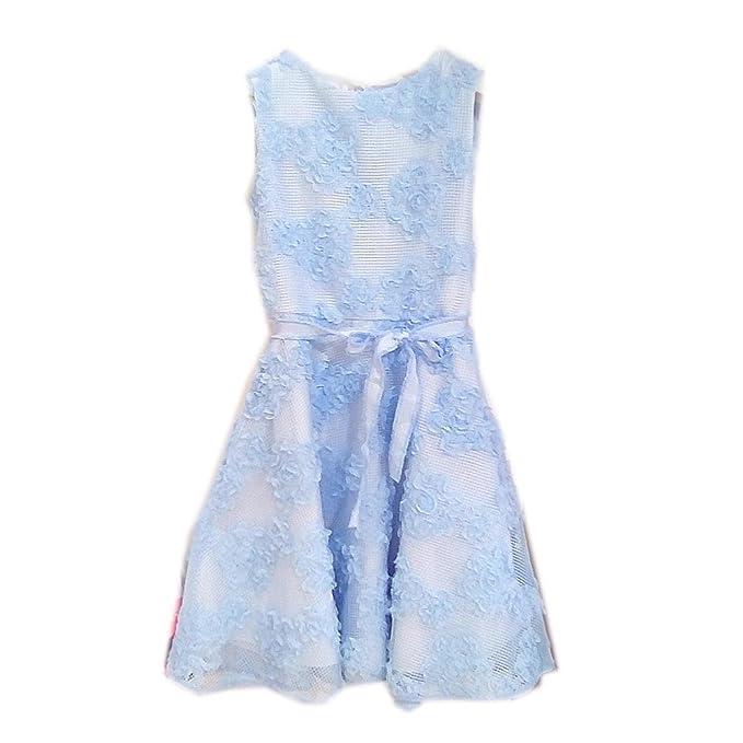 new product a879f c62cf ELSY Abito cerimonia Bambina rif 833: Amazon.it: Abbigliamento