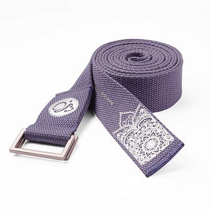Amazon.com: Yoga stretch belt 2.5m Yoga Rope Tension Belt ...