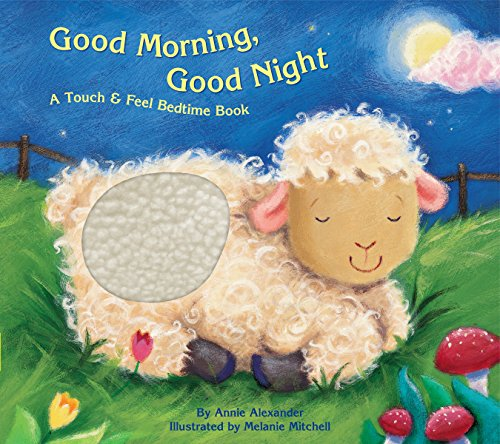 Bendon 13380-1 Piggy Toes Press Good Morning Good Night Touch & Feel Storybook, Multicolor
