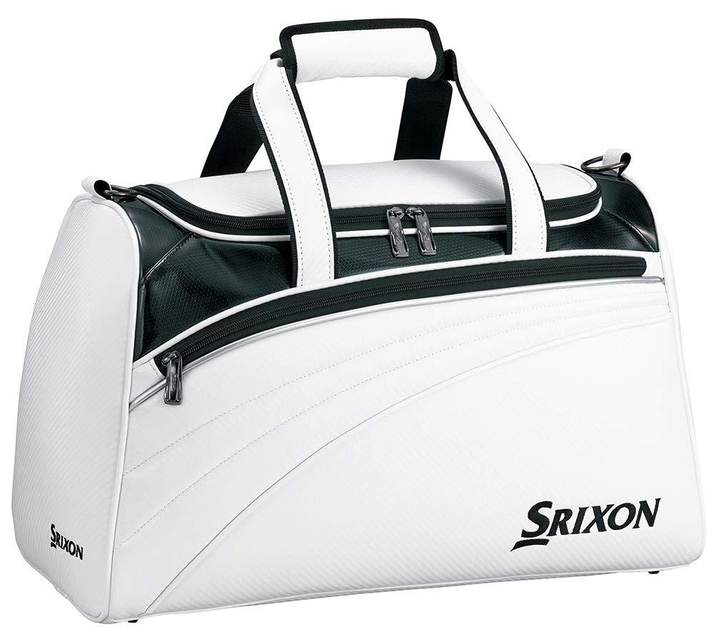 DUNLOP(ダンロップ) ボストンバッグ SRIXON スポーツバッグ GGB-S143 ホワイト   B07H3QF2MR