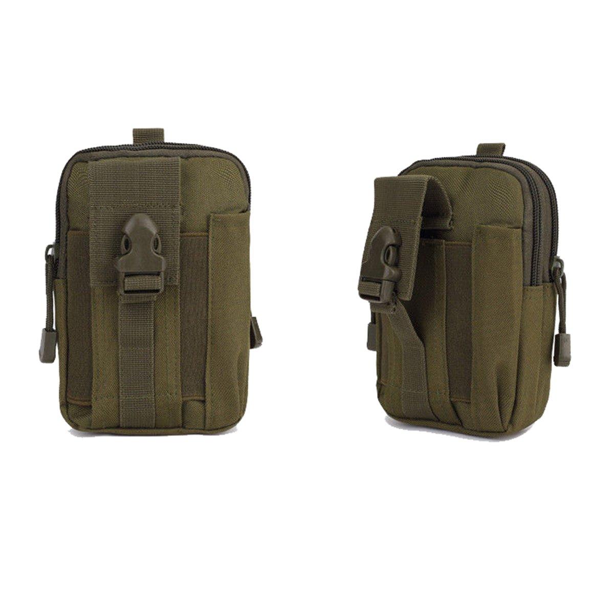 Generic Tactical Molle Pouch Belt Waist Pack Bag Military Waist Pocket Waterproof