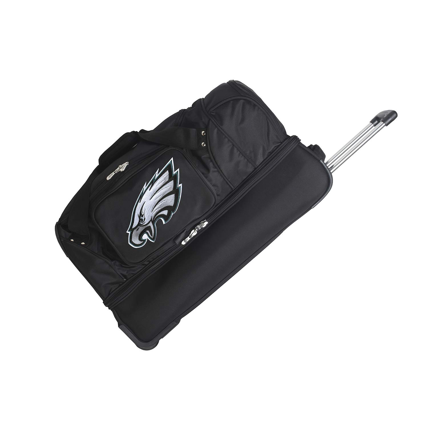 NFL Drop Bottom Rolling Duffel Luggage