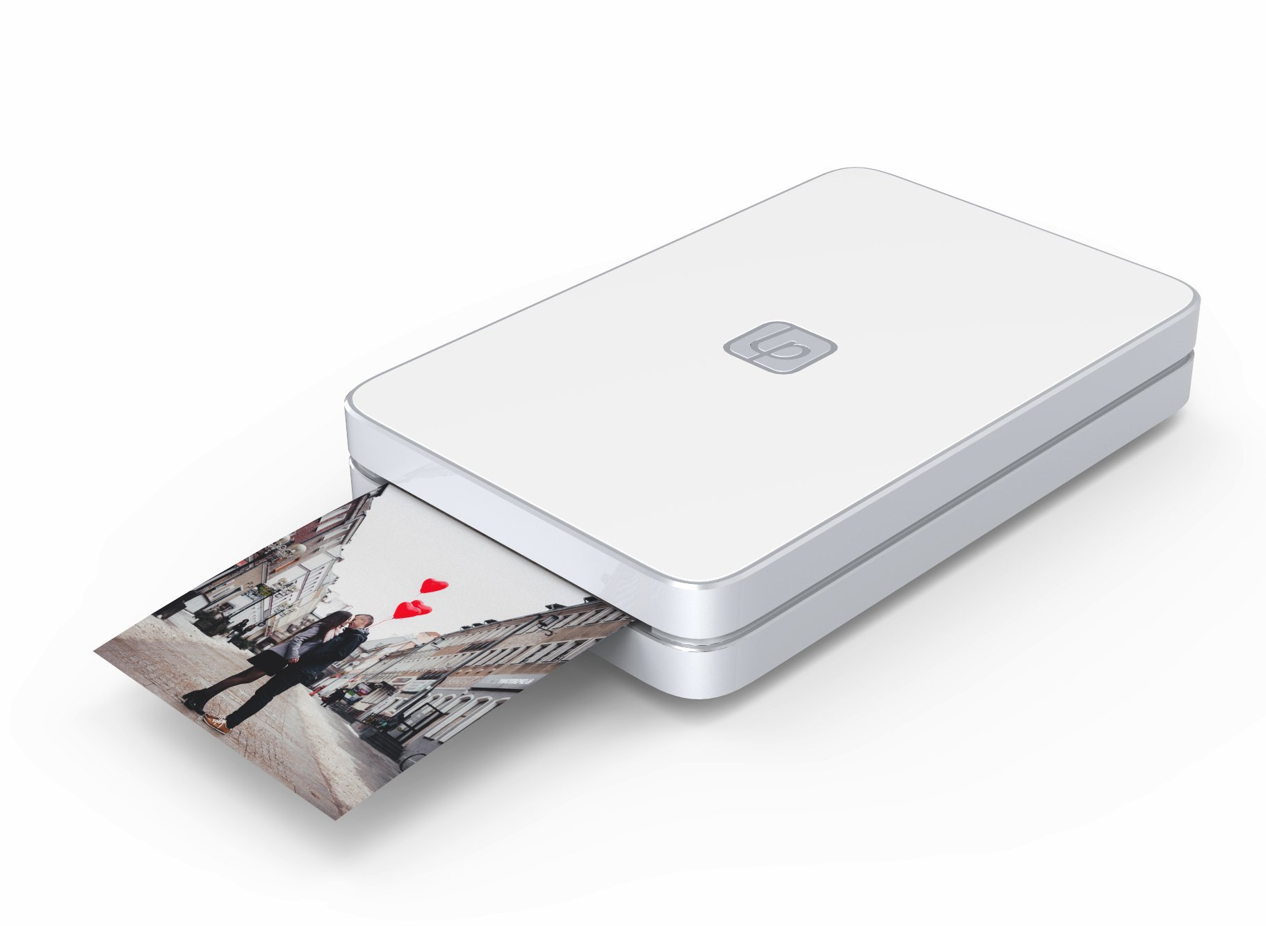 Lifeprint 2x3 Portable Photo AND Video Printer for iPhone and Android. Make Your Photos Come To Life w/ Augmented Reality - White by Lifeprint