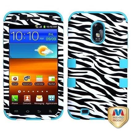 Amazon.com: mybat Rugged Tuff Funda Híbrida para Samsung ...