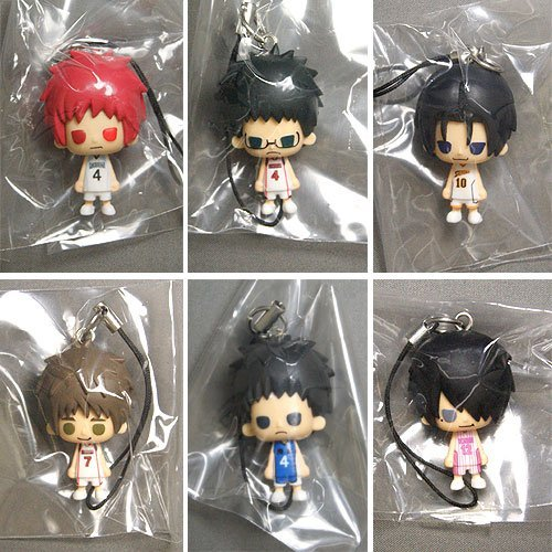 Kuroko's Basketball 1point mascot vol.2 all six set Banpresto prize by Banpresto