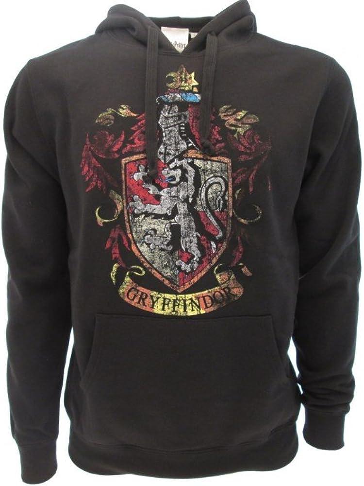 Harry Potter Sudadera con Capucha Hoodie Simbolo de Gryffindor Casa - 100% Oficial Warner Bros (XS 10-14 Años)