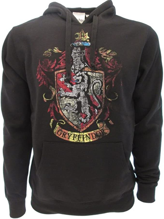 Harry Potter con Cappuccio Cardigan Grifondoro Corvonero Tassorosso Serpeverde 3D Stampa Felpa Unisex Zipper Maniche Lunghe con Cappuccio Top