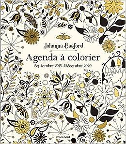 Agenda à colorier : Septembre 2019 - Décembre 2020 ...