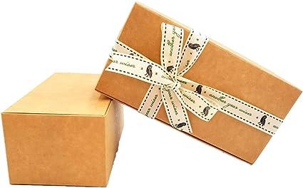 Pack de 6 cajas de regalo pequeñas (código A) cartulina plana pack ...