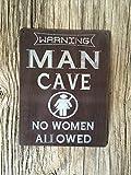 man cave garage Metal Sign Tin Signs Retro Shabby Wall Plaque Metal Poster Plate 20x30cm Wall Art Coffee Shop Pub Bar Home Hotel Decor