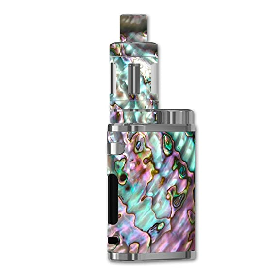 Skin Decal Vinyl Wrap For Eleaf Istick Pico 75w Vape Mod Skins Stickers Cover Abalone Pink Green Purple Sea Shell