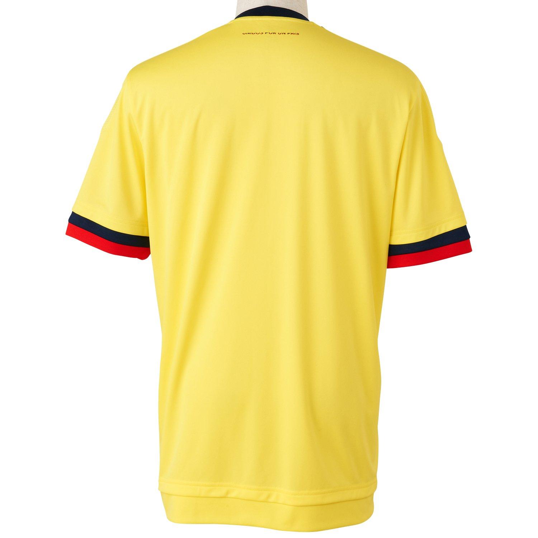 Adidas Fcf H JSY Camiseta Oficial 1ª Equipación Federación Colombiana de Fútbol, Hombre, Amarillo (Amabri/Maruni), XL: Amazon.es: Deportes y aire libre