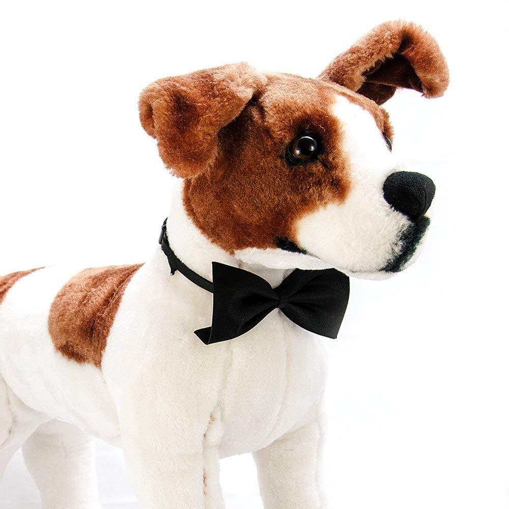 Fliege f/ür Hunde 4yourpet Premium Halsschleife Hundefliege