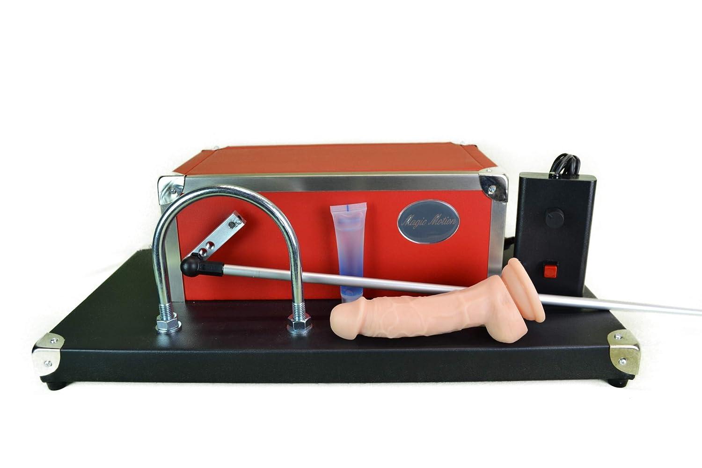 ... Incluye el juguete sexual Juego - Consolador fick eléctrica magic Motion Pleasure Basic - Una enorme Potente Sex juguete fabricado en Alemania.