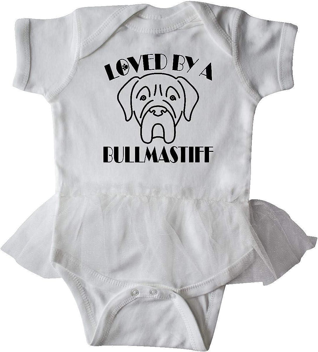 inktastic Bullmastiff Dog Gift Infant Tutu Bodysuit