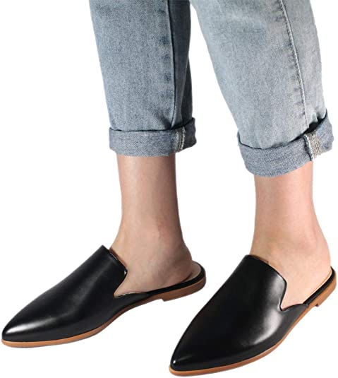 Backless Woven Loafer Mules femme find Marque
