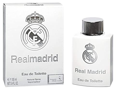 Amazon.com: Real Madrid Real Madrid Hombres edt Spray 3.4 oz ...