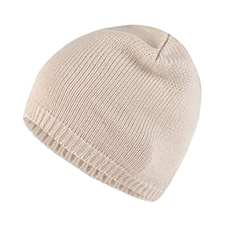 0a1f5215b0b5 Moonuy Bonnet d hiver Femme Chauffant Bonnet Tricot avec Écharpe de  Doublure Polaire Hiver Beanie