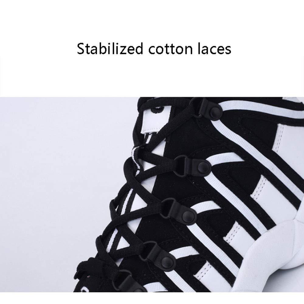 YSZDM Basketball-Schuhe, hoch hoch hoch zu helfen stoßdämpfung Rutschfeste atmungsaktiv männer und Frauen Sportschuhe Outdoor Laufschuhe Paar Schuhe,rot,37 B07PPVN3RK Basketballschuhe Flagship-Store 10e8b4