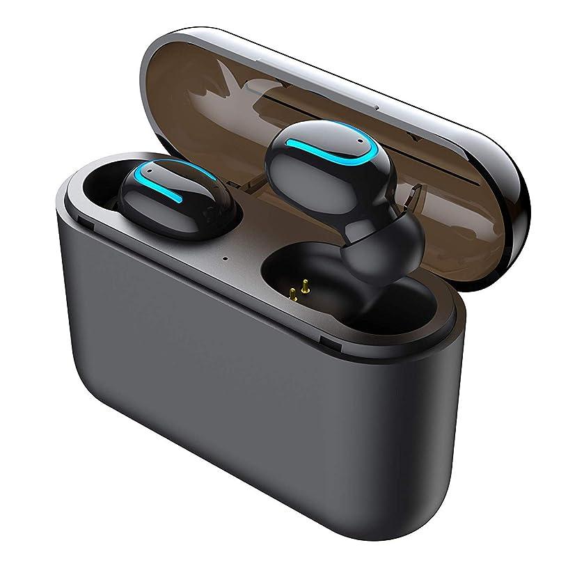 狂人くしゃみ砂漠SoundPEATS(サウンドピーツ) TrueFree+ ワイヤレスイヤホン Bluetooth 5.0 完全ワイヤレス イヤホン SBC/AAC対応 35時間再生 Bluetooth イヤホン 自動ペアリング 左右独立型 マイク内蔵 両耳通話 防水 小型 軽量 TWS ブルートゥース ヘッドホン トゥルーワイヤレス ヘッドセット [メーカー1年保証] ブラック