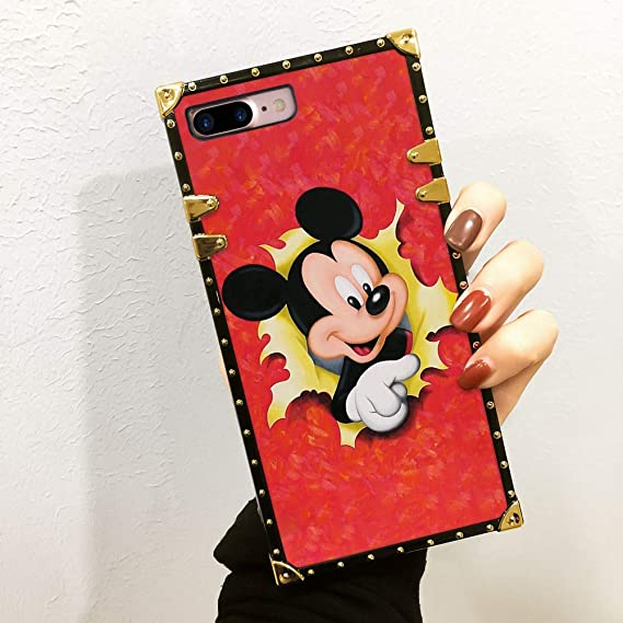 iPhone 8 Plus / 7 Plus Silikon Case – Rosenrot