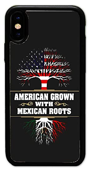 0dd3cbbf286c Amazon.com: Custom iPhone X Cases - American Grown with Mexican ...