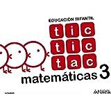 Tic tic tac Matemáticas 3. - 9788469829899