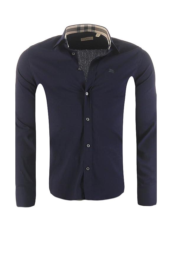 Burberry Giacca Uomo Blu S: Amazon.it: Abbigliamento