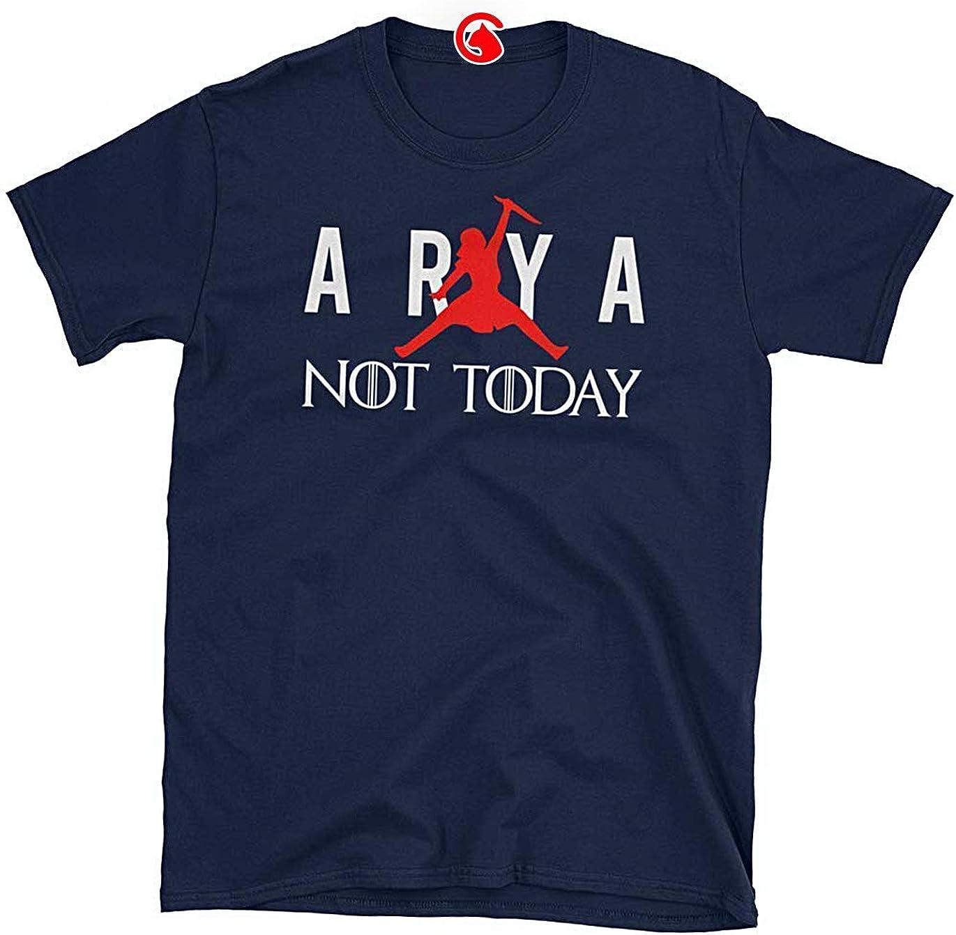apagado estas temporal  Amazon.com: Catix Arya Jordan Shirt Arya Jumpman Air Not-Today T-Shirt Tee Air  Arya Stark Game-of-Thrones Funny Unisex Classic T Shirt (Click Customize  Now, Click Customize Now): Clothing
