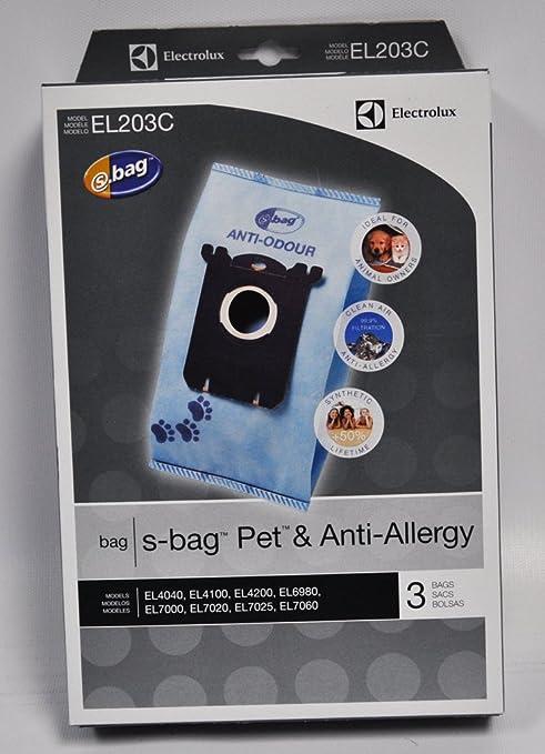 Amazon.com: Electrolux s-bags mascota y Anti-allergy el203 C ...