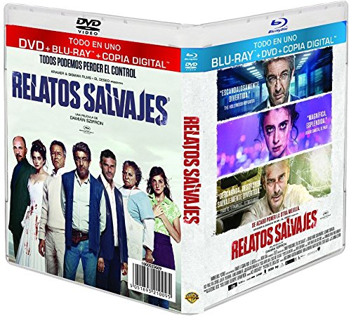 Wild Tales ( Relatos salvajes ) (+ Digital Copy) (Blu-Ray & DVD Combo) [ Blu-Ray, Reg.A/B/C Import - Spain ]