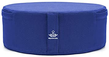 Amazon.com: heathyoga cojín de meditación de Yoga, lavable ...
