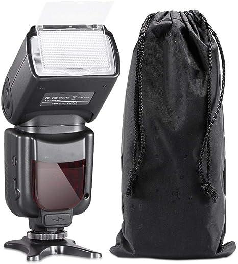 QYRL Flash Speedlite con Pantalla LCD para Nikon D5000 D3000 D3100 ...