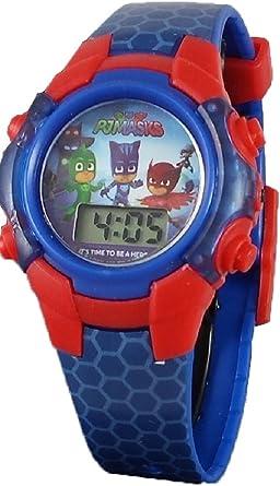 PJ® Masks - Reloj Digital con luz Azul para niño