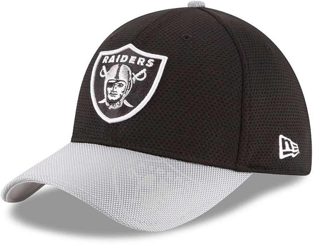 New Era 39Thirty Cap NFL Black Sideline Oakland Raiders