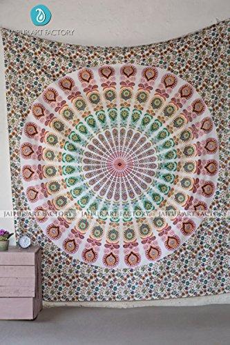 Jaipur Art - Jaipur Art Factory Indian Traditional Essential Essence Raksha Mandala Tapestry