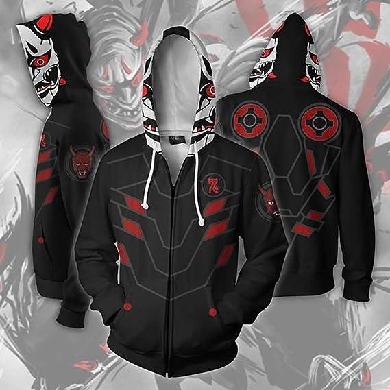 XYQB Hombres Overwatch Genji de impresión Digital Sudaderas Casual poliéster suéter de Lana al Aire Libre Sudadera Deportiva: Amazon.es: Deportes y aire ...