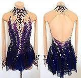 Figure Skating Dress Girls Expensive Competition Dress Silk B55