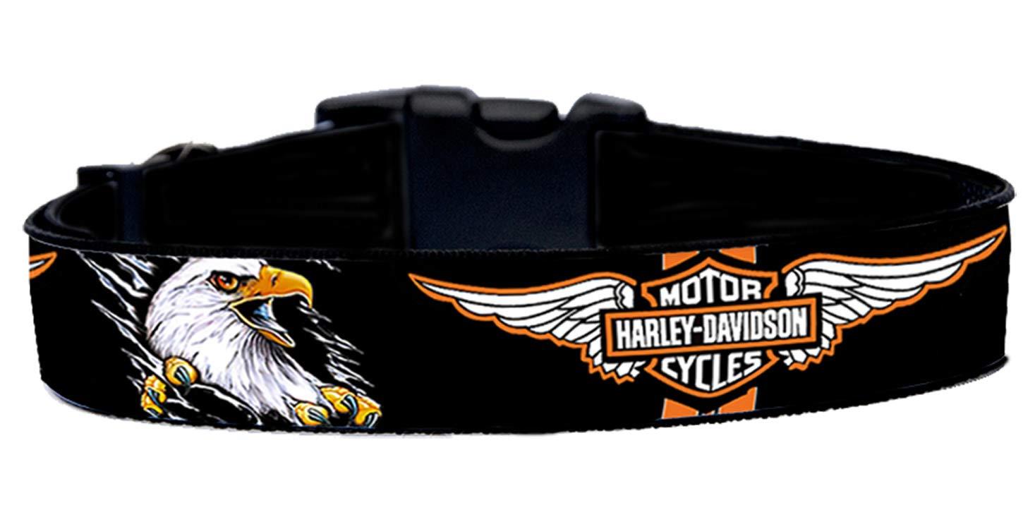 MasTazas Harley Davidson Eagle Collar de Perro Hecho a Mano ...