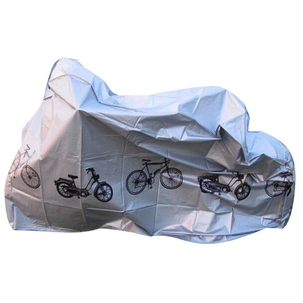 【あすつく】 自転車カバー B077P6DMB1、fansportバイクカバー防水ほこり防止防塵雨カバーfor Bicycle Bicycle (グレー) B077P6DMB1, 木田郡:11b71f45 --- agiven.com