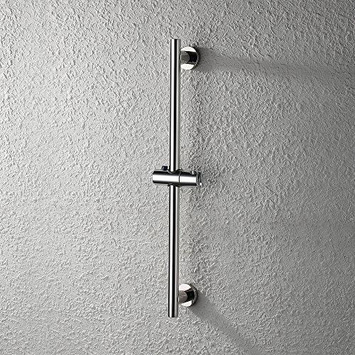 KES Shower Slide Bar for Bathroom with Adjustable Handheld Shower Holder Wall Mount, Polished SUS 304 Stainless Steel, F204 (Slide Shower)