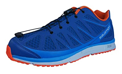 best sneakers 02430 61e0c Salomon Kalalau Mens Hiking/Walking Sneakers/Shoes-Blue-11 ...