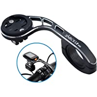 Shockli Aluminium Alloy Extended Out-Front Cycling Bicycle Computer Combo Mount for Garmin Edge 200 500 510 520 800 810…
