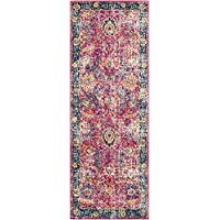 Surya HAP1013-2773 Harput Runner, 2 7 x 7 3, Red, Blue