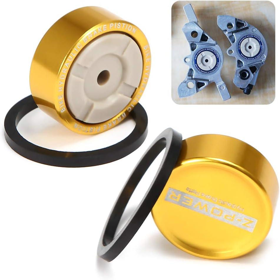 قطعة واحدة من أجزاء الفرامل الهيدروليكية من فيستنايت خاتم ختم المكبس المعدني لشيمانو SLX M675/M7000/XT M785/M8000/RS805/RS815