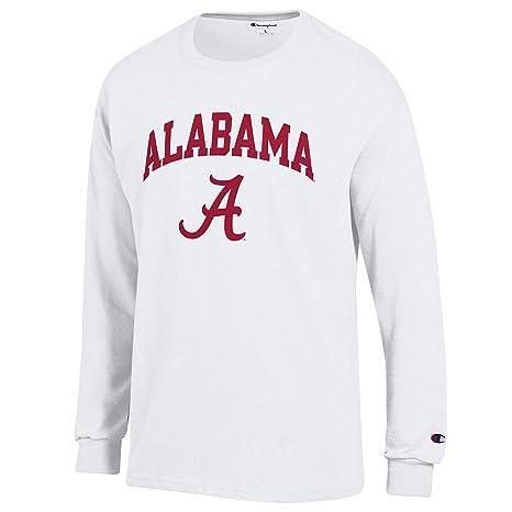 ab8dd2b0 Elite Fan Shop Alabama Crimson Tide Long Sleeve Tshirt Varsity White - M