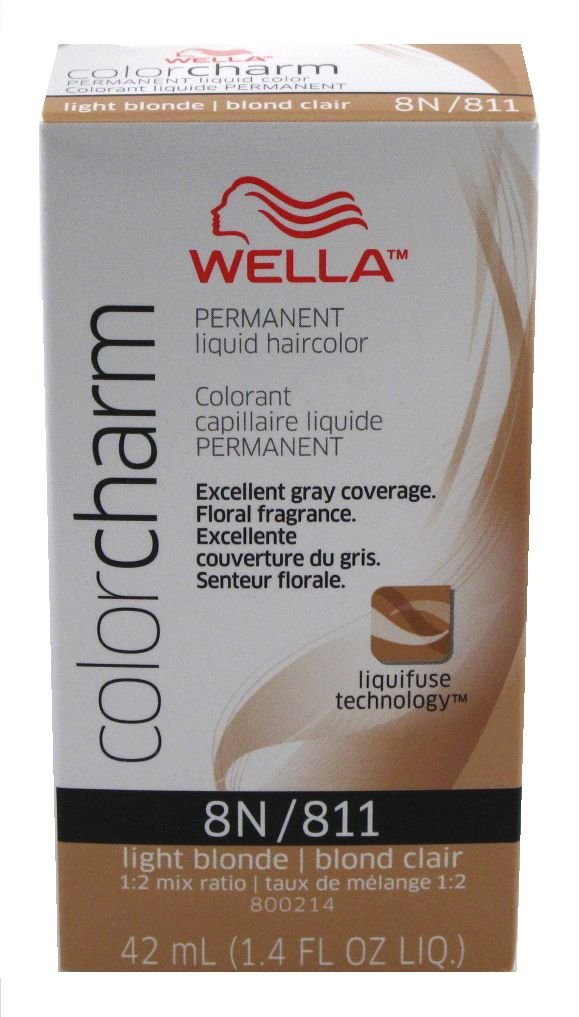 30off Wella Colorcharm Liquid 08118n Light Blonde Hair Color 3