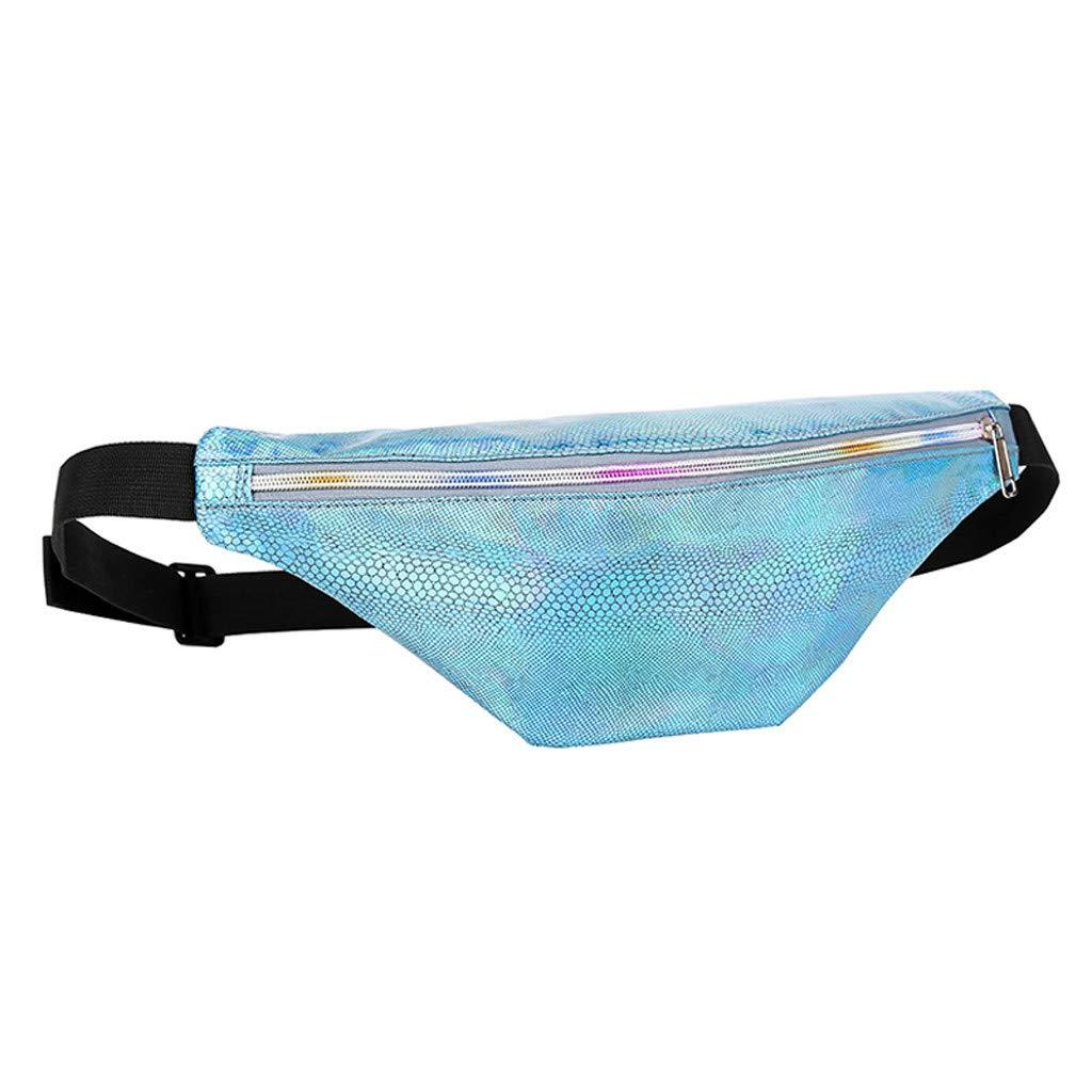 Sapienc Fashion Neutral Outdoor Zipper Serpentine Messenger Bag Chest Bag Waist Bag