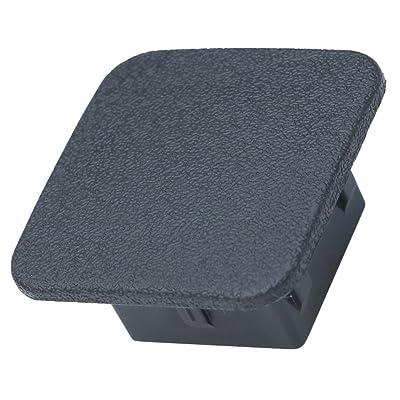 """LFPartS 2"""" Trailer Hitch Cover Plug Insert (Plain Black, Fit 2"""" Receivers): Automotive"""