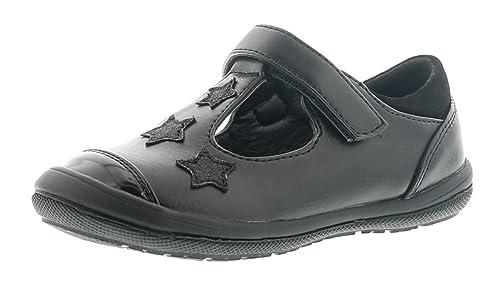 Princess Stardust Crepúsculo Niño Niña Zapatos de Colegio Negro - Negro - GB Tallas 4-10 - Negro, 29 EU: Amazon.es: Zapatos y complementos